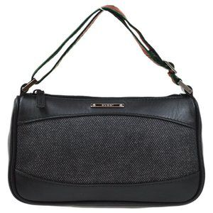Authentic GUCCI Sherry Line Hand Bag 92821 204991